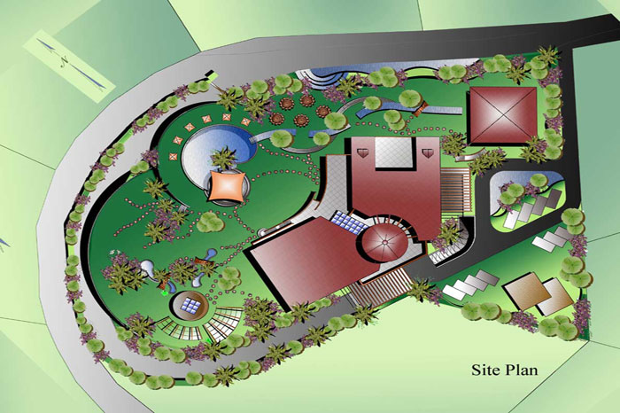 Concept Design Landscaping Studies And Presentation Public Garden Resorts