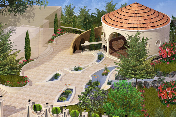 Landscaping Concept Design Presentation Execution Drawings Coordinate And Supervision